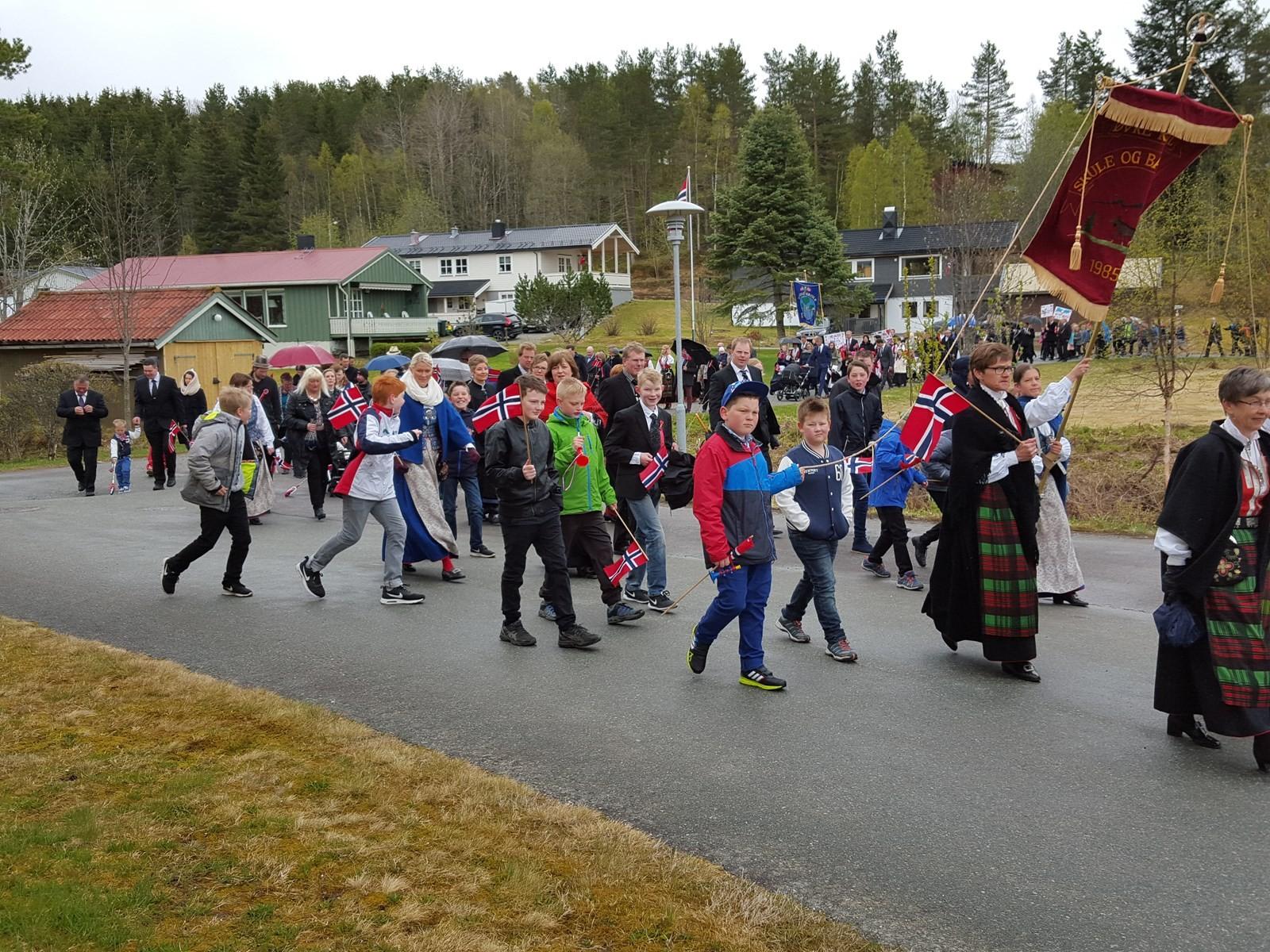Folketoget i Rindal.