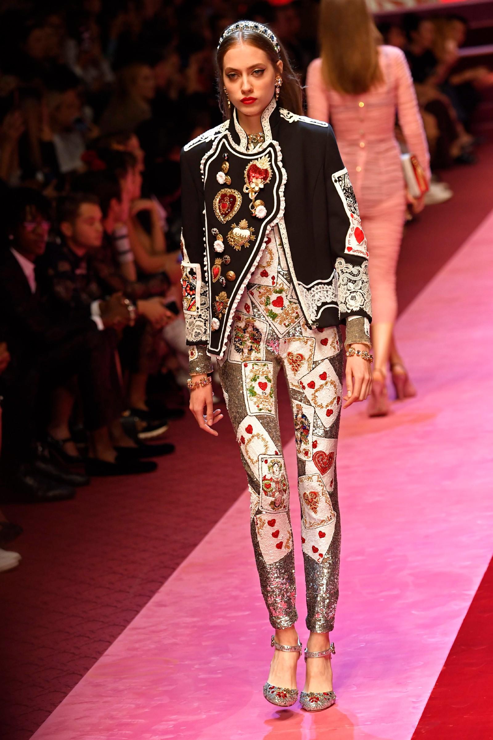 Dolce & Gabbana: Ei av mange hjarterdronningar.
