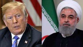 Trump og Rouhani