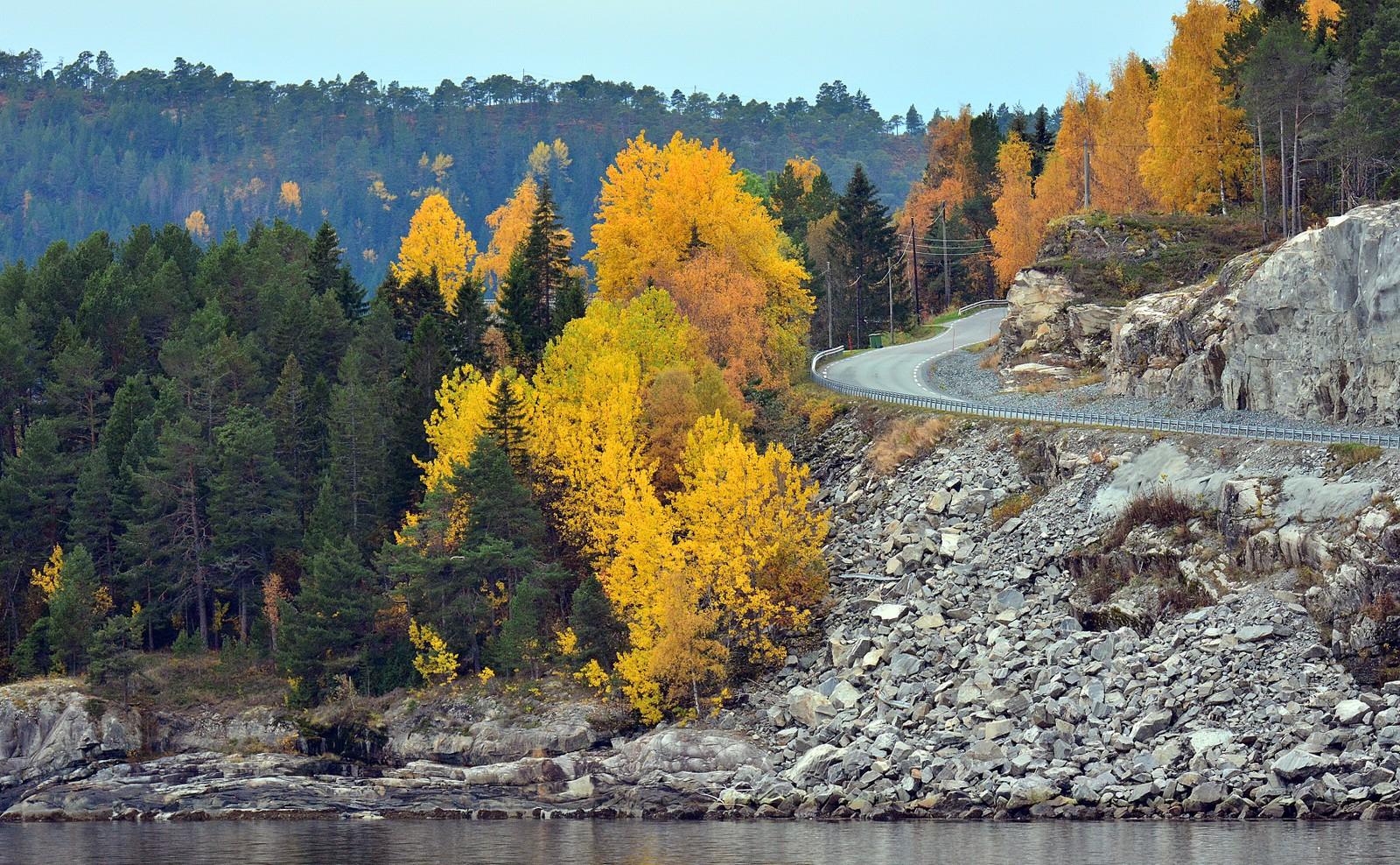 Høstfarger i Leksvik