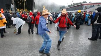 Country fans danser