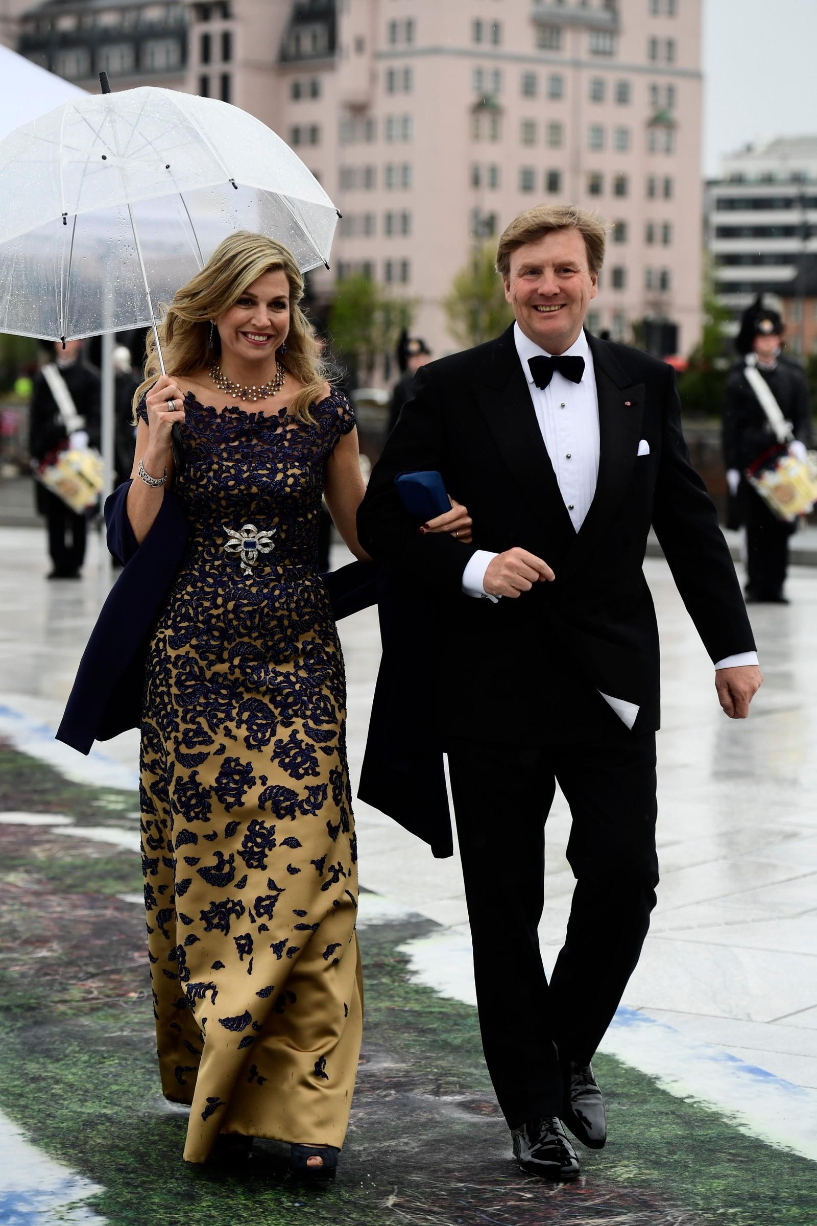 Nederlandske dronning Maxima og kong Willem-Alexander.