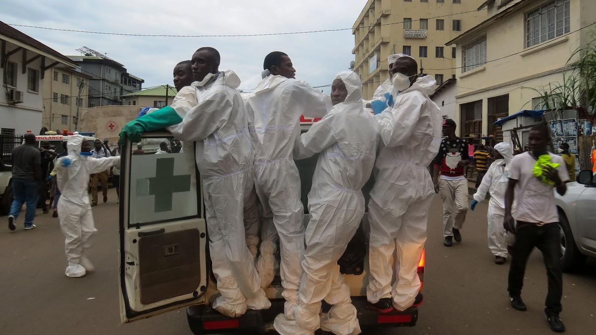 105 barn blant de døde etter jordras i Sierra Leone