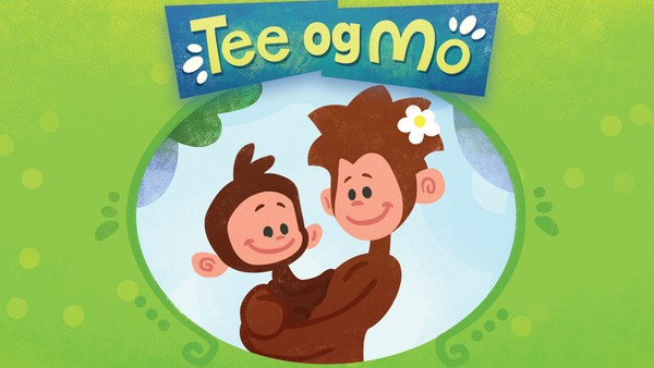 Britisk animasjonsserie om den lille apen Tee og moren hans Mo.