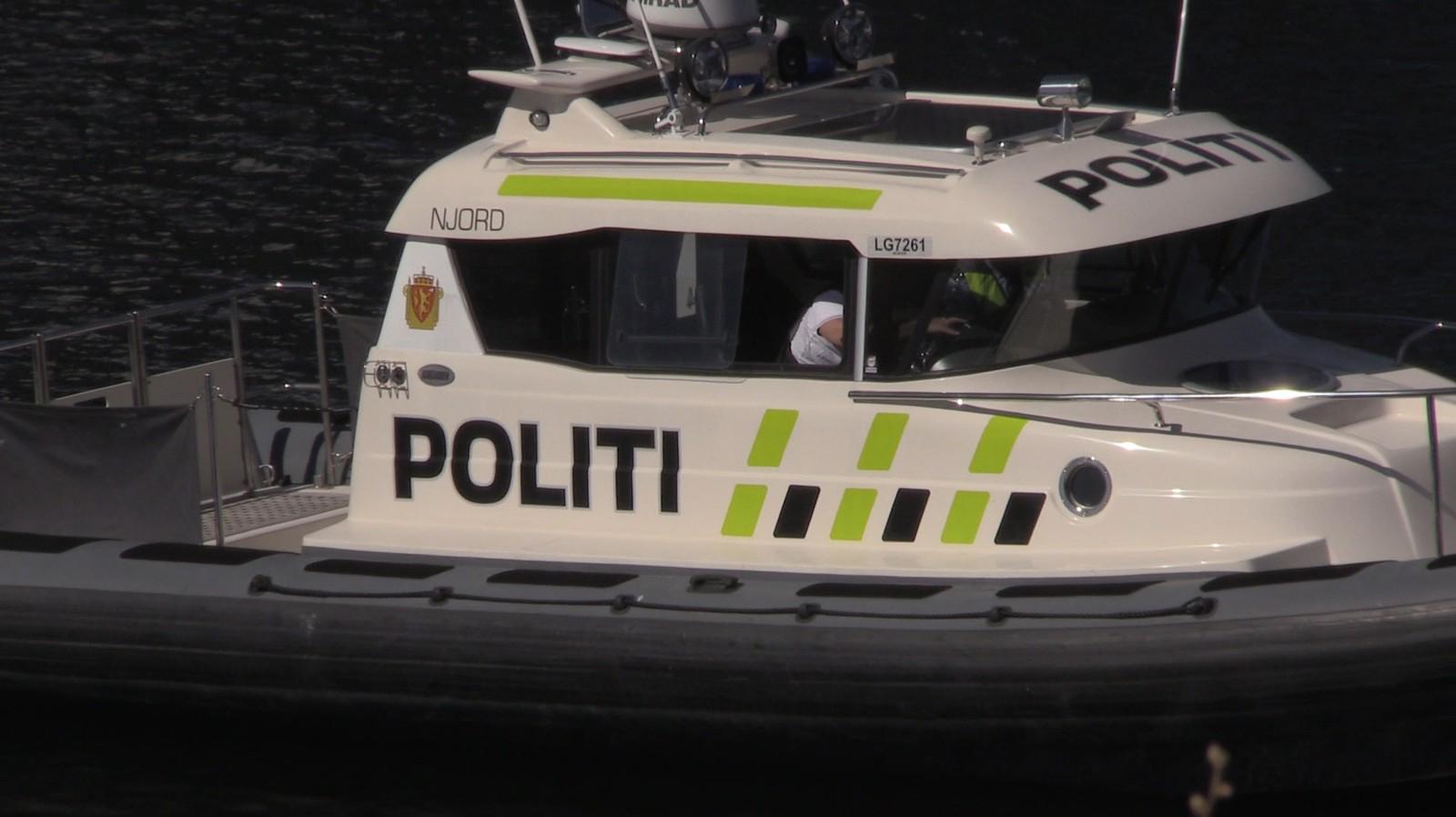 Politiet søker tirsdag ettermiddag etter den savnede i Skienselva.