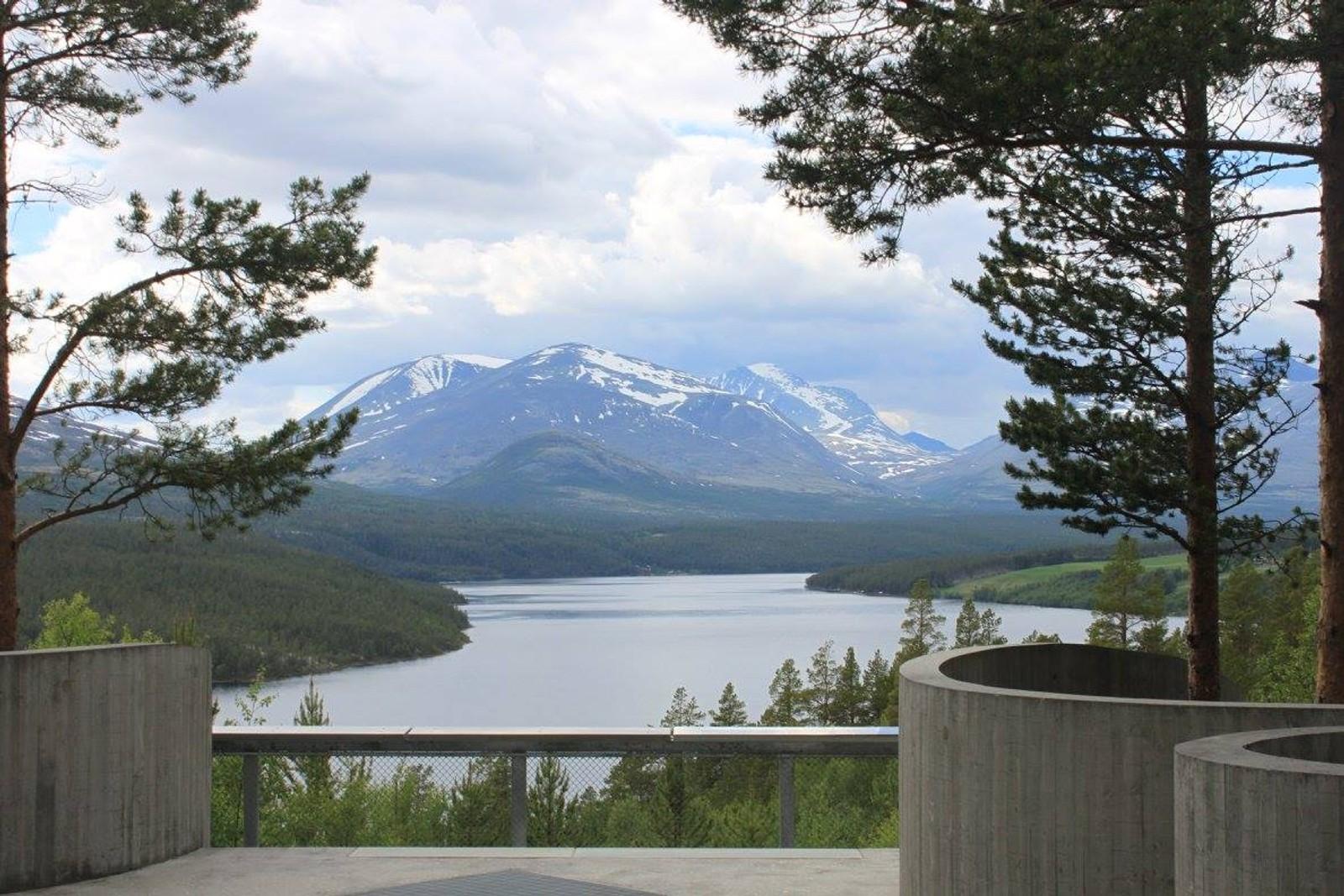 Sohlbergplassen - utsikt mot Rondane.