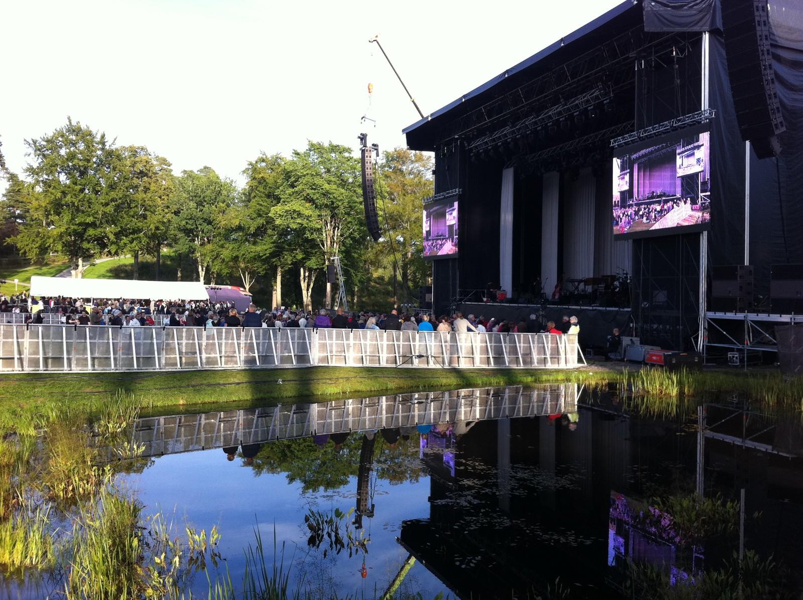 NORGESVENN: Cohen har spilt en rekke konserter i Norge. Her på festningen i Halden i 2012.