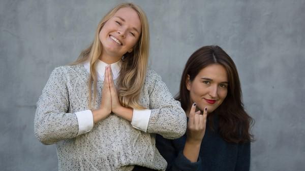 med Adelina og Vida Lill