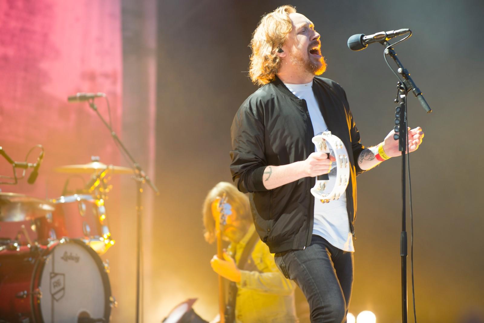 Den svenske publikumsfavoritten Lars Winnerbäck avsluttet månefestivalens konsertprogram på hovedscenen.