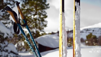 Skikkelig klabbføre på årets siste skitur