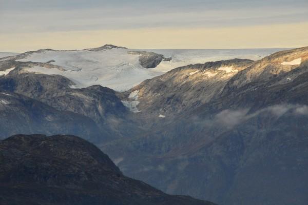 Folgefonna sett fra Trolltunga - Foto: Bergen Turlag