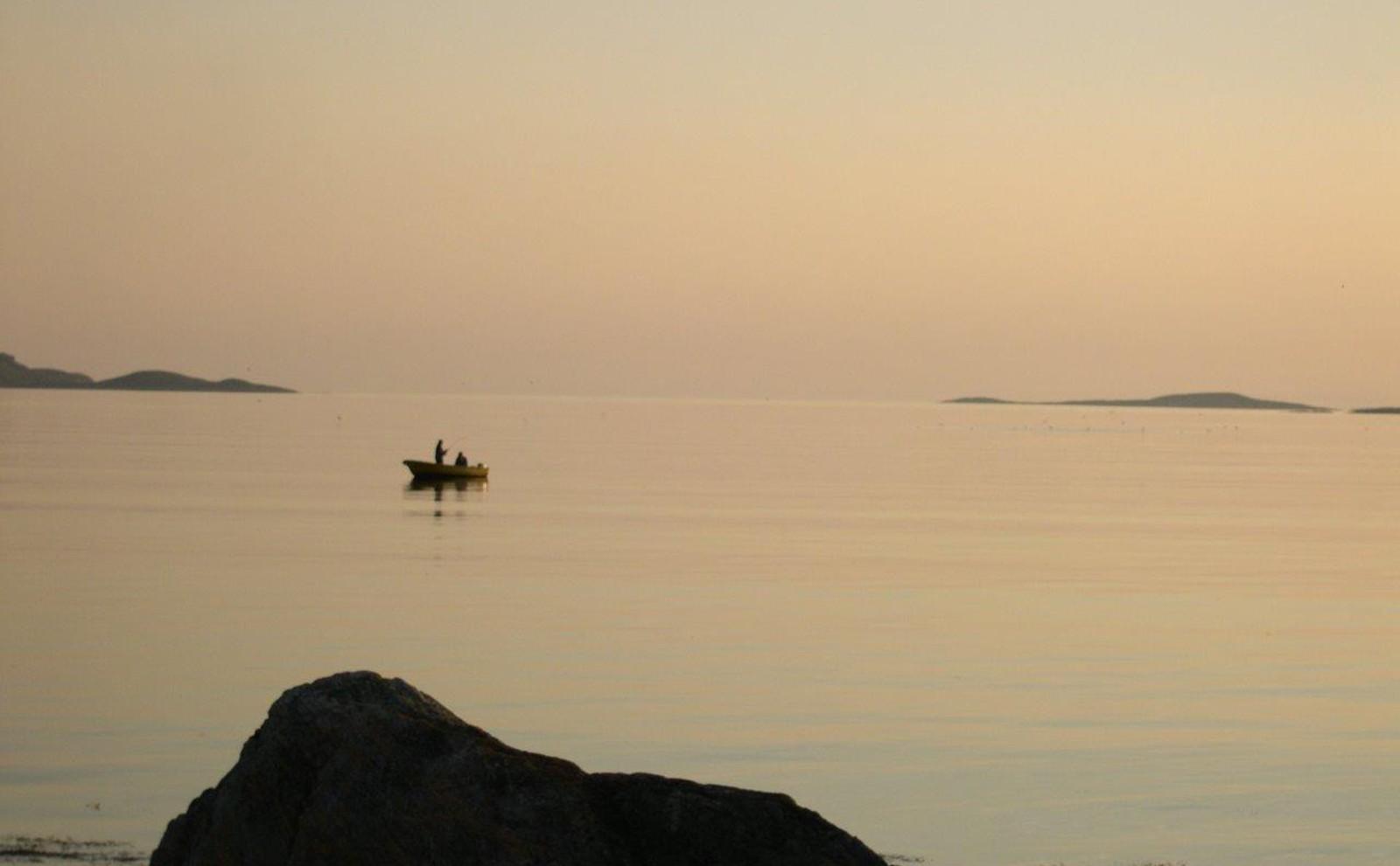 Nattfiskestemning i Osen