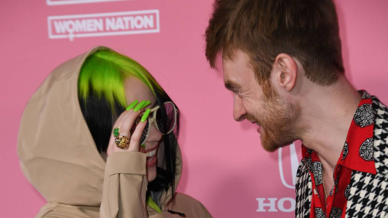 Billie Eilish og storebror Finneas O'Connell på Billboards «Woman of the Year 2019»