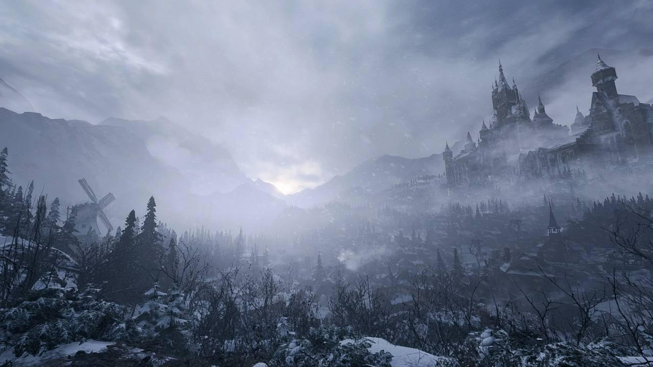 Skjermbilde fra spillet «Resident Evil Village».