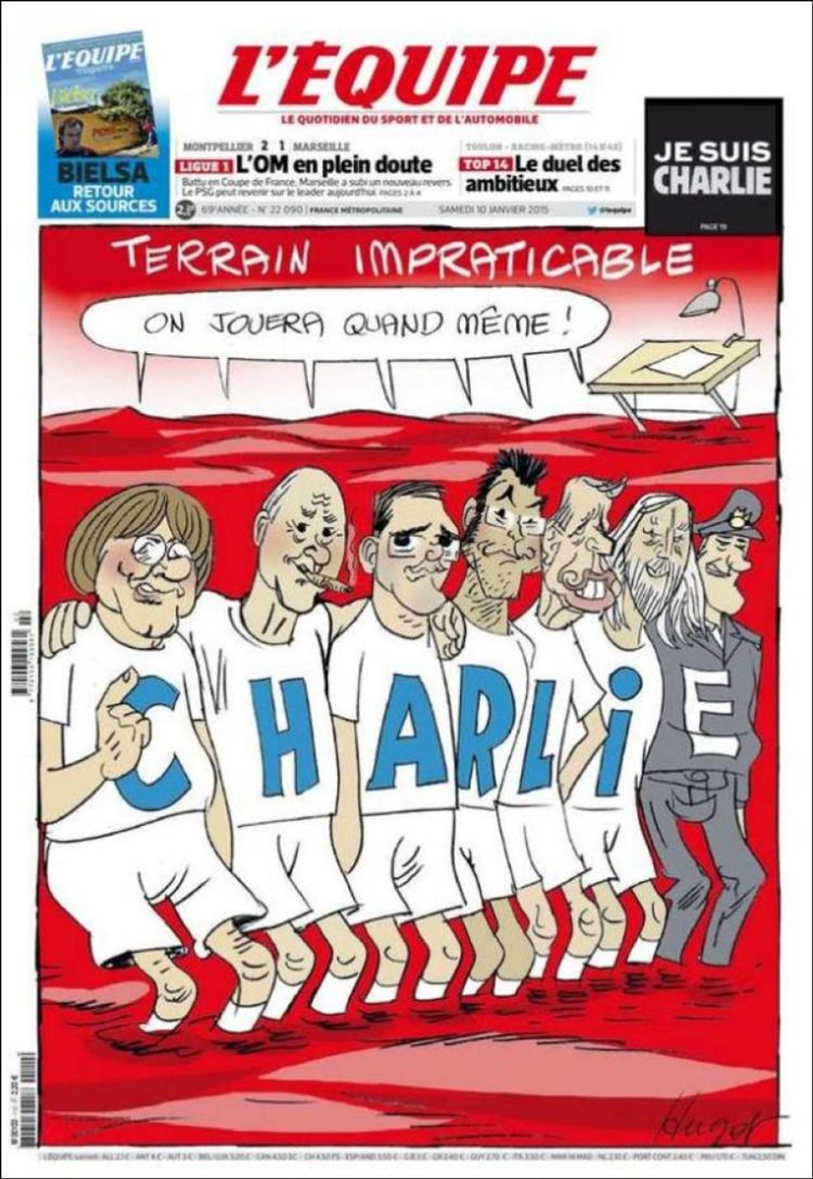 Sportsavisa L'Equipe: Umulig terreng, men vi spiller uansett.