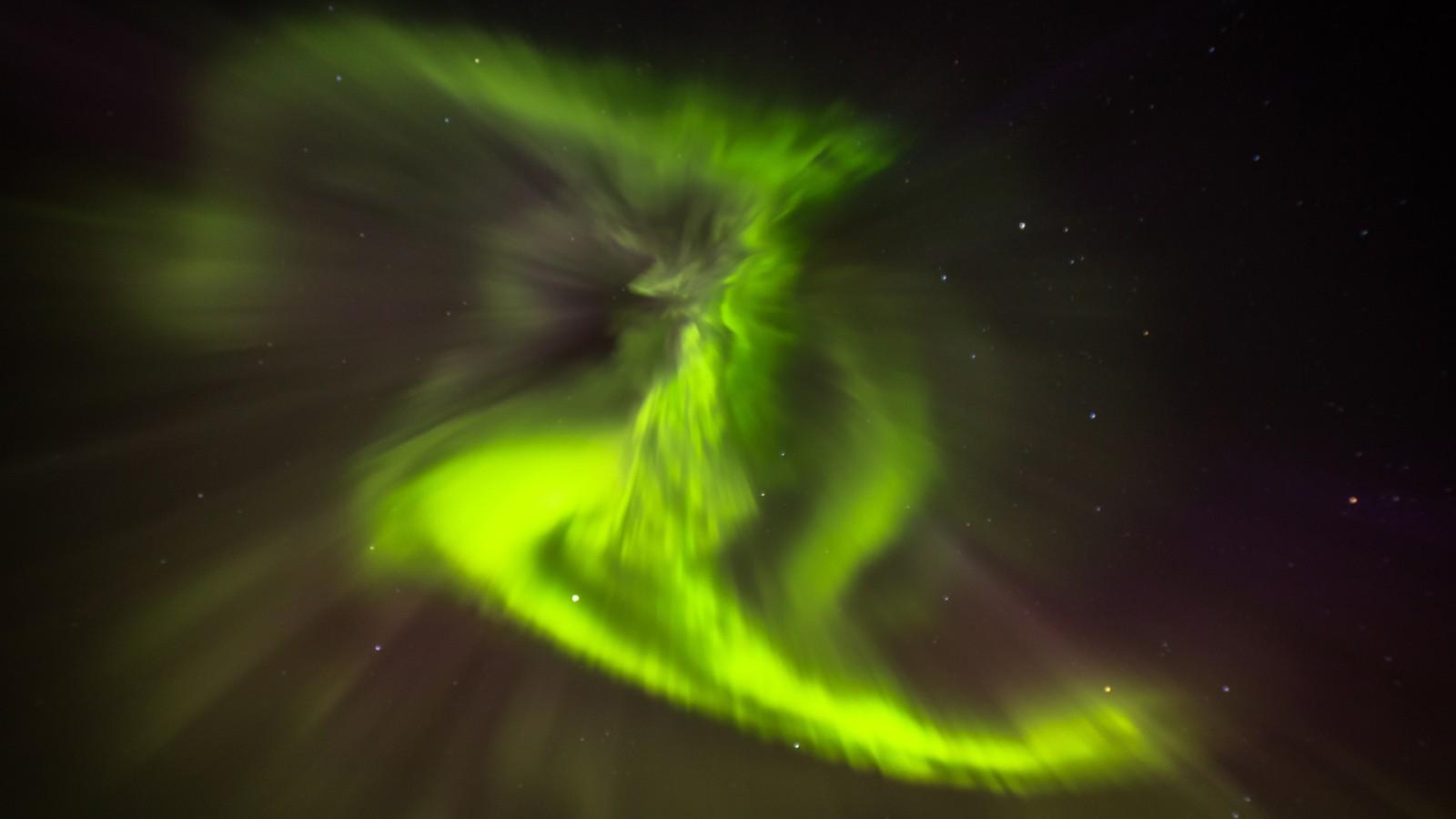 Nordlys på Forbordsfjellet