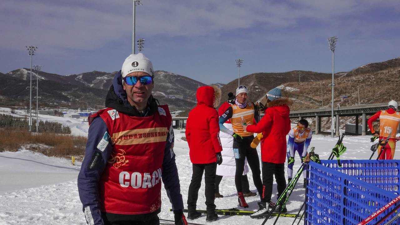 Ole Einar Bjørndalen er trener for Kinas landslag i skiskyting