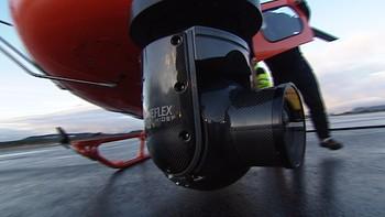 Videokamera under helikopteret