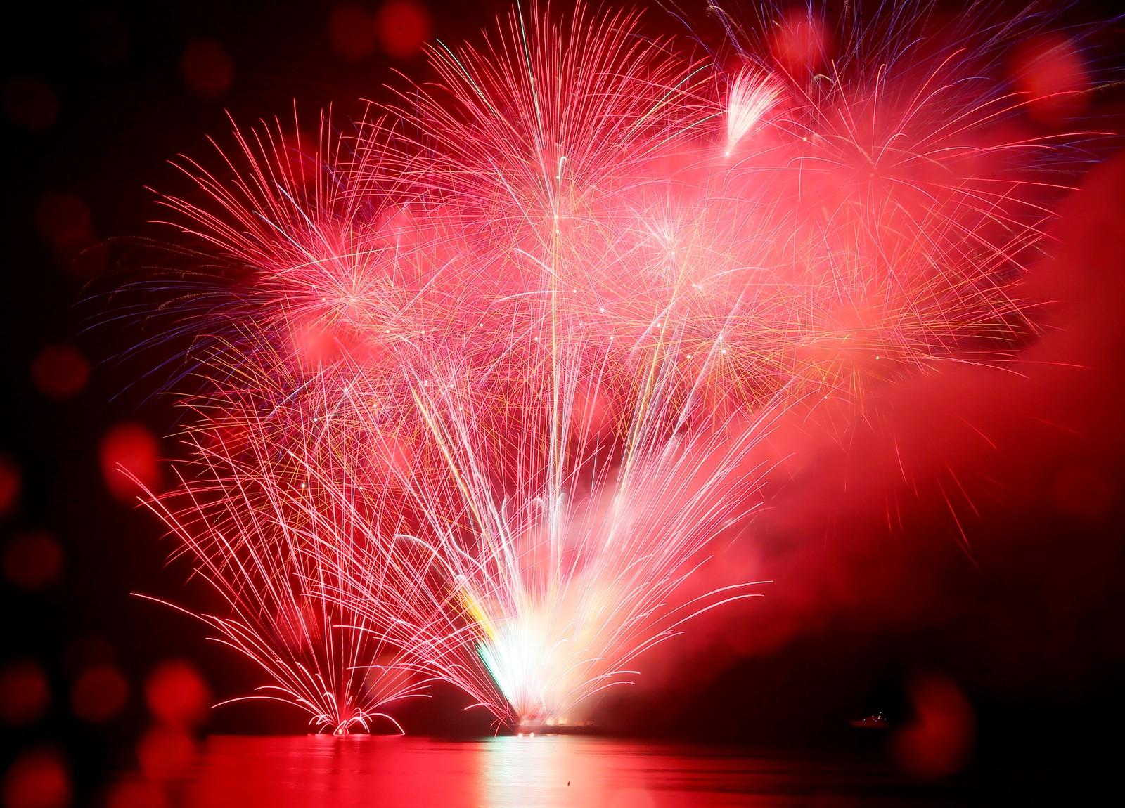 Her feirer filippinere feirer inngangen til det nye året i landets hovedstad Manila.
