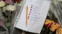 12 personer ble drept og mange ble skadet, da terrorister gikk til angrep på det satiriske ukemagasinet Charlie Hebdo i Paris, blant annet på grunn av magasinets satiriske tegninger av profeten Muhammed. Foto: AFP/JACQUES DEMARTHON