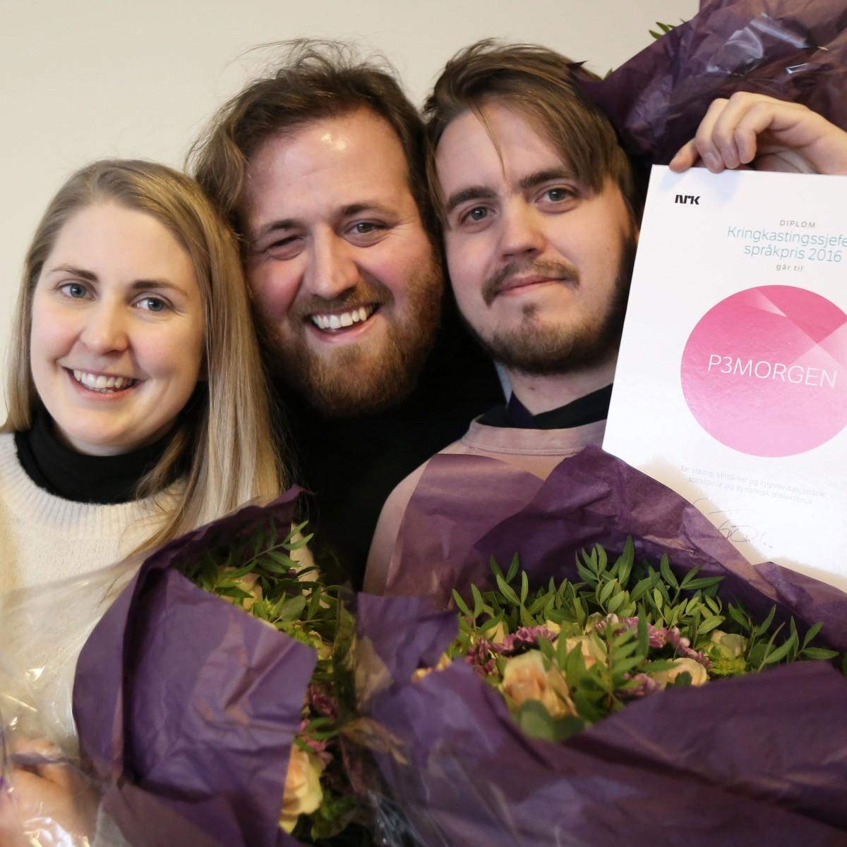 P3morgen Far Kringkastingssjefens Sprakpris Nrk Kultur Og Underholdning