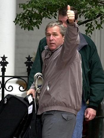 George W. Bush i 2000.