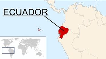 Ecuador - kart
