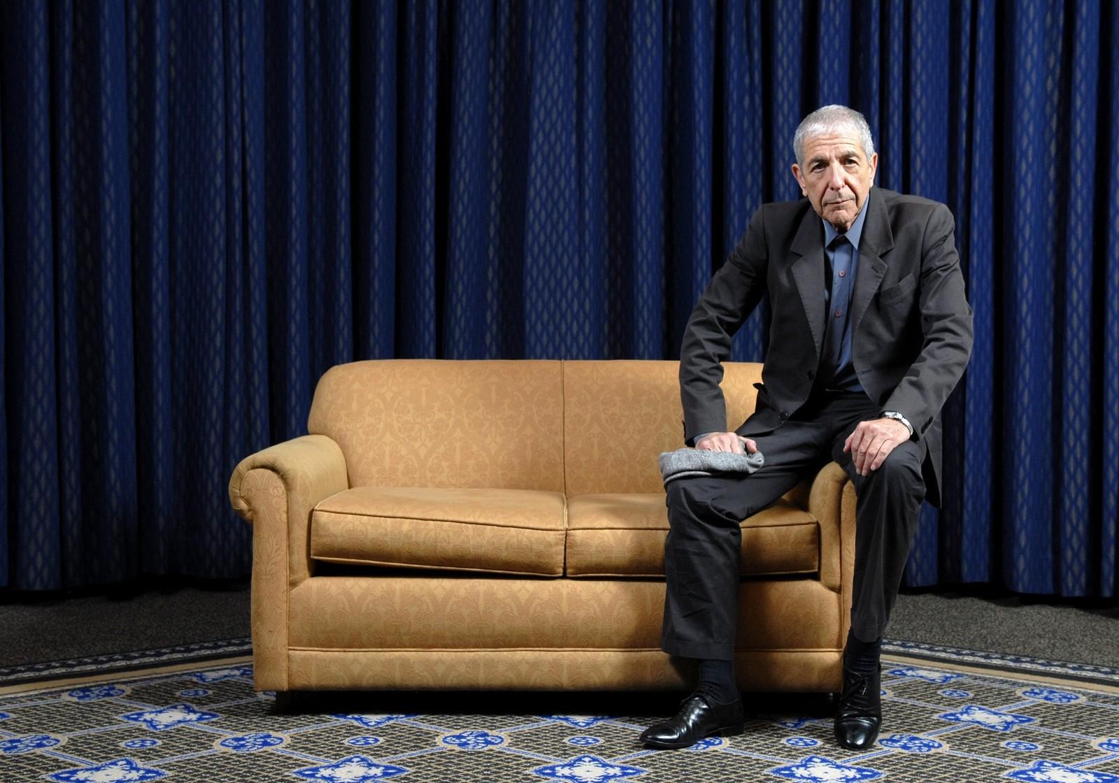 PRIS: Leonard Cohen ble innlemmet i Canadian Songwriters Hall of Fame 4. februar 2006 i Toronto.