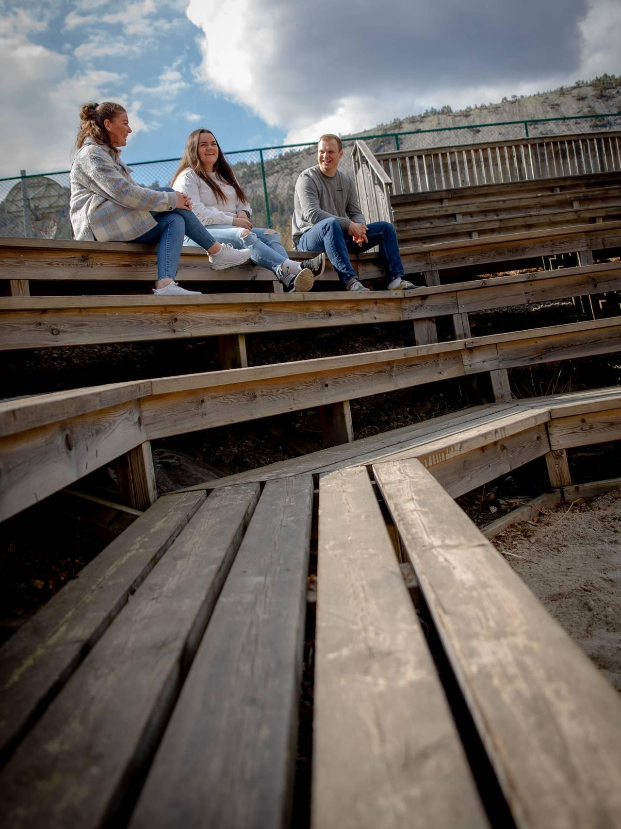 Thea Helgesen, Inger Jeanette Retterholt og Olav Gunnar Halvorsen