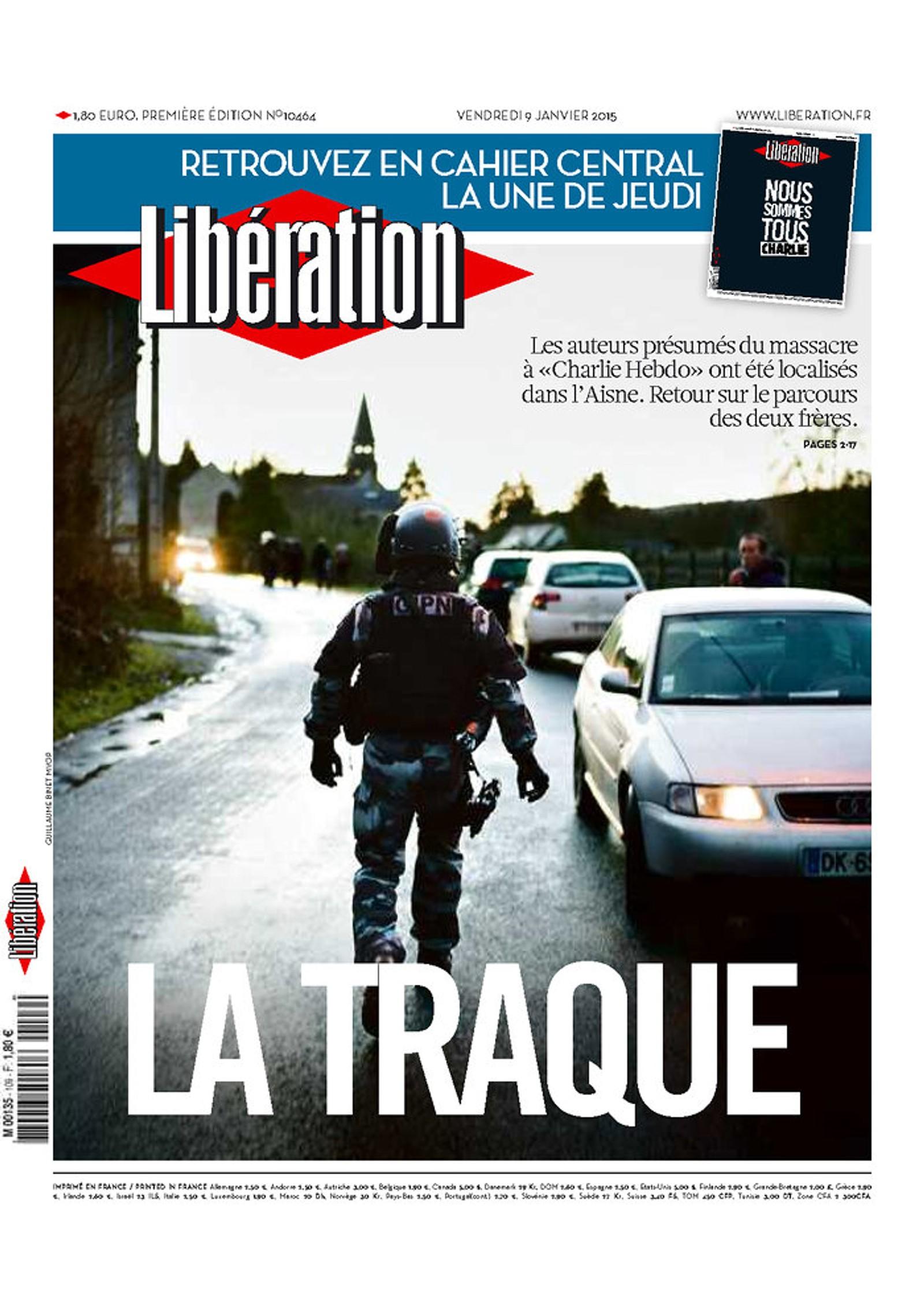 La Libération, Paris: Klappjakten (papirutgave kveld 9.1)