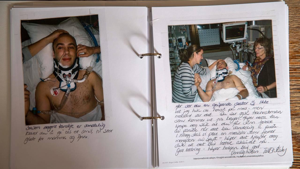 Roy Wathne på sykehus album
