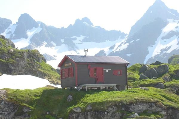 Trollfjordhytta - Foto: Trond Løkke