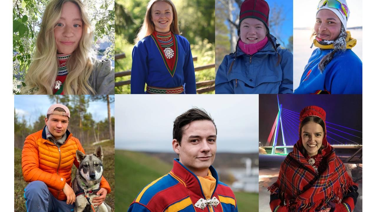 Collage deltakere i talentprogram