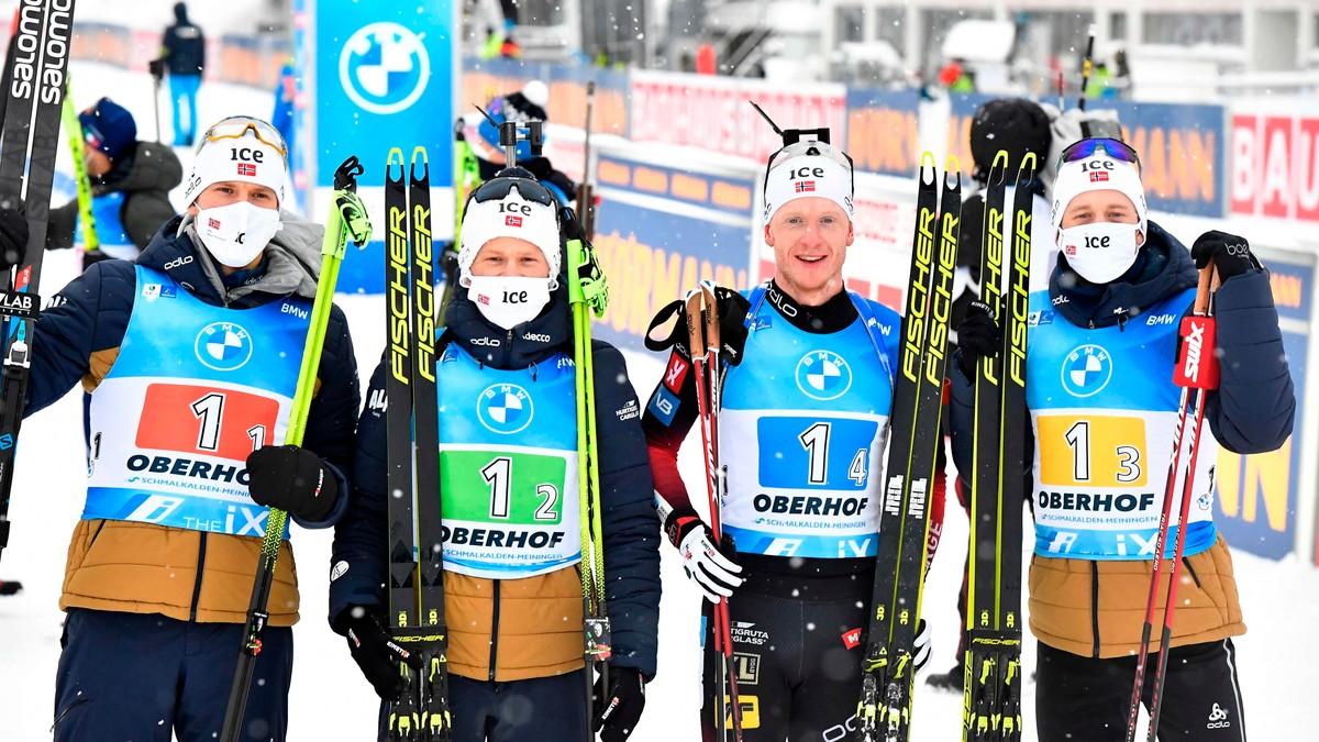 Norsk andreplass i stafett