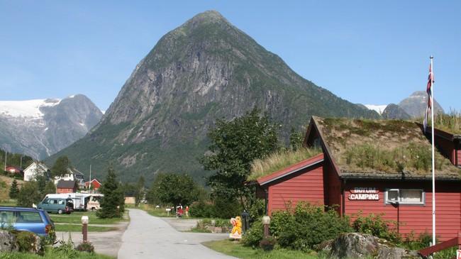 Bøyum Camping. Foto: Kjell Arvid Stølen, NRK.
