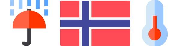 Værrekorder i Norge