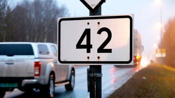 Riksvei 42 Arendal - Evje