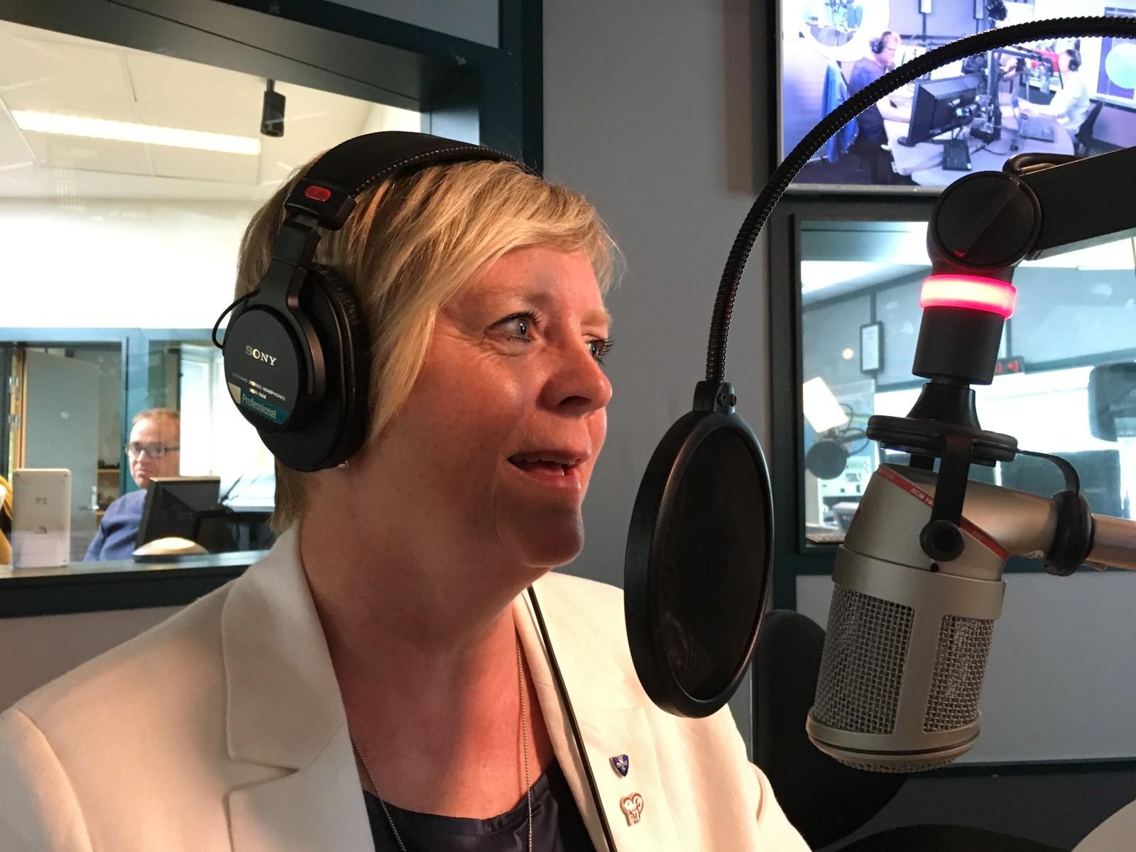 Fylkesordfører Solveig Ege Tengesdal.