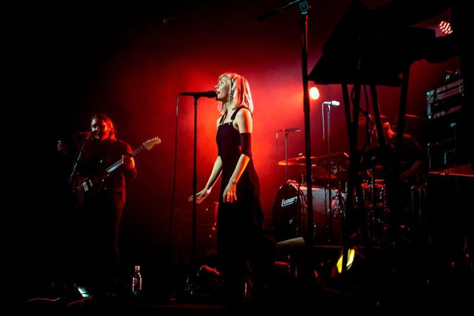 UTSELT: Konserten med Aurora Aksenes blei utselt lenge før festivalen starta.