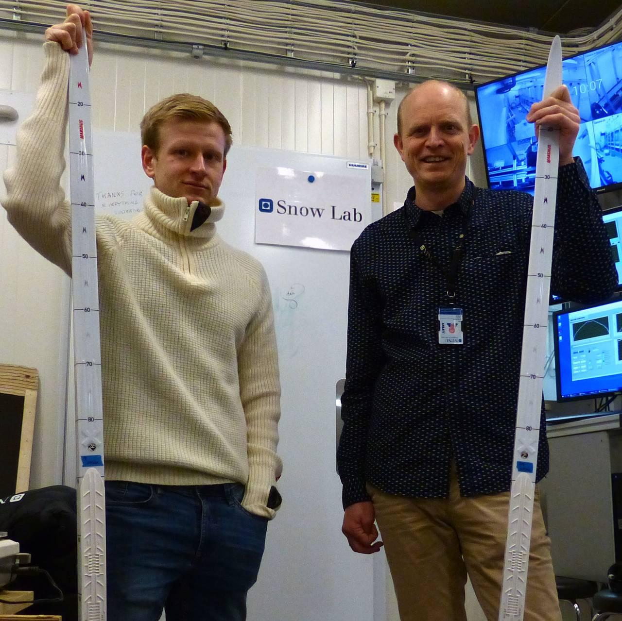Alex Klein-Paste og Sondre Bergtun Auganæs, NTNU