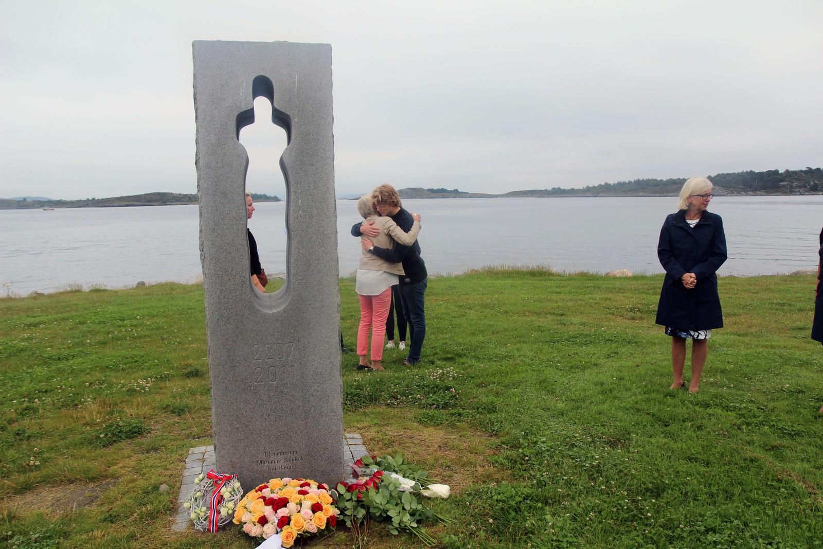 Minnemarkering på Hundvåg.