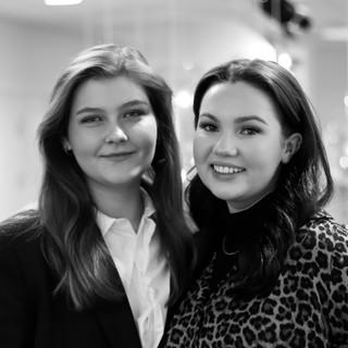 Julianne Flølo og Seline Larsen