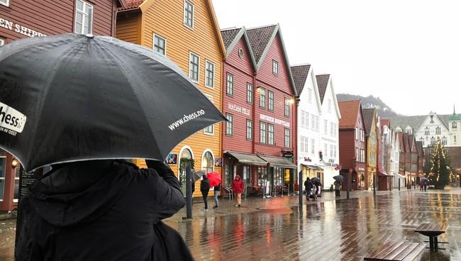 Regn i Bergen