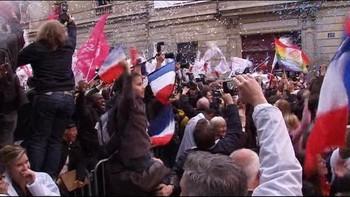 Video François Hollande vant presidentvalget i Frankrike