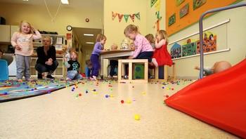 Inne i Gråtass barnehage i Fredrikstad