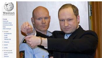 Wikipedia, Anders Behring Breivik