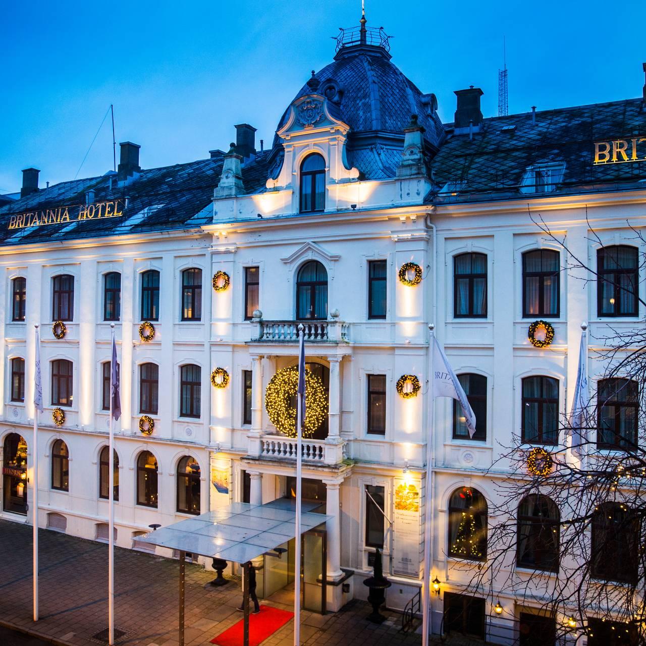 Britannia hotell i Trondheim