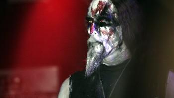 Vokalisten Gaahl i blackmetal-bandet Gorgoroth