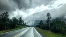 UVÆRET LURER: I helgen blir det vått.
