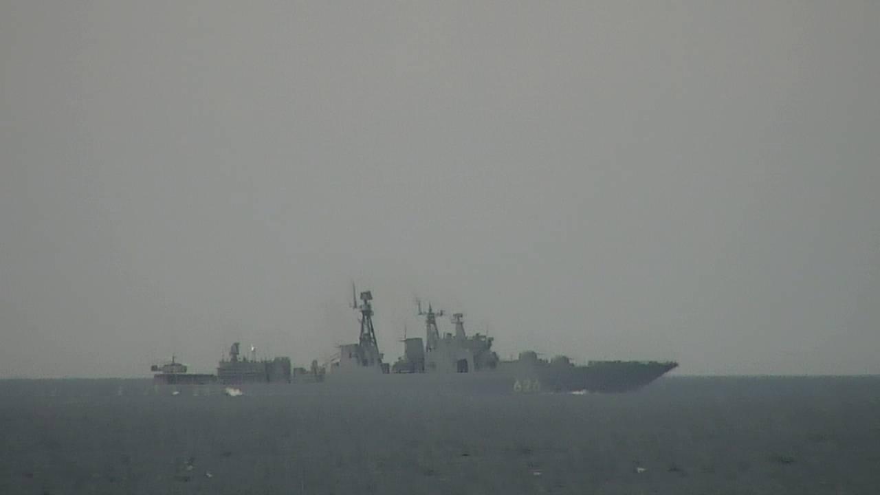 Den russiske nordflåten øver utenfor kysten av Norge